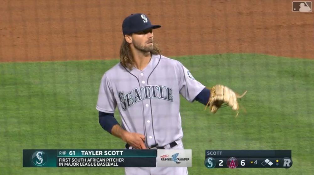 テイラー・スコット投手