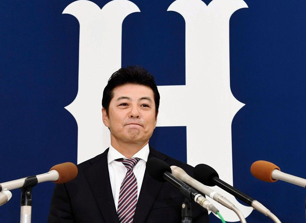 緒方監督辞任会見