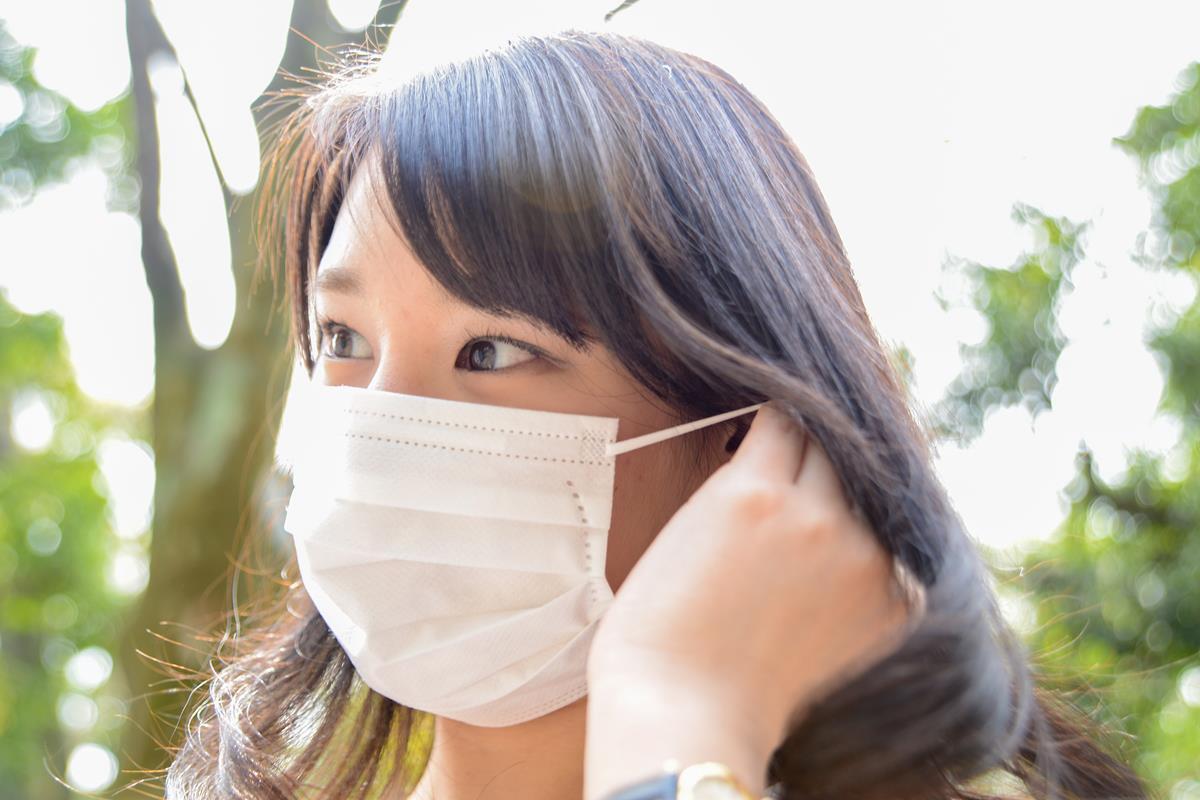 新型コロナウイルス感染症対策マスク