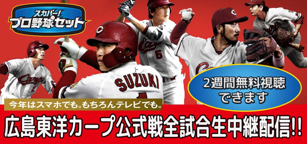 広島東洋カープ公式戦全試合生中継