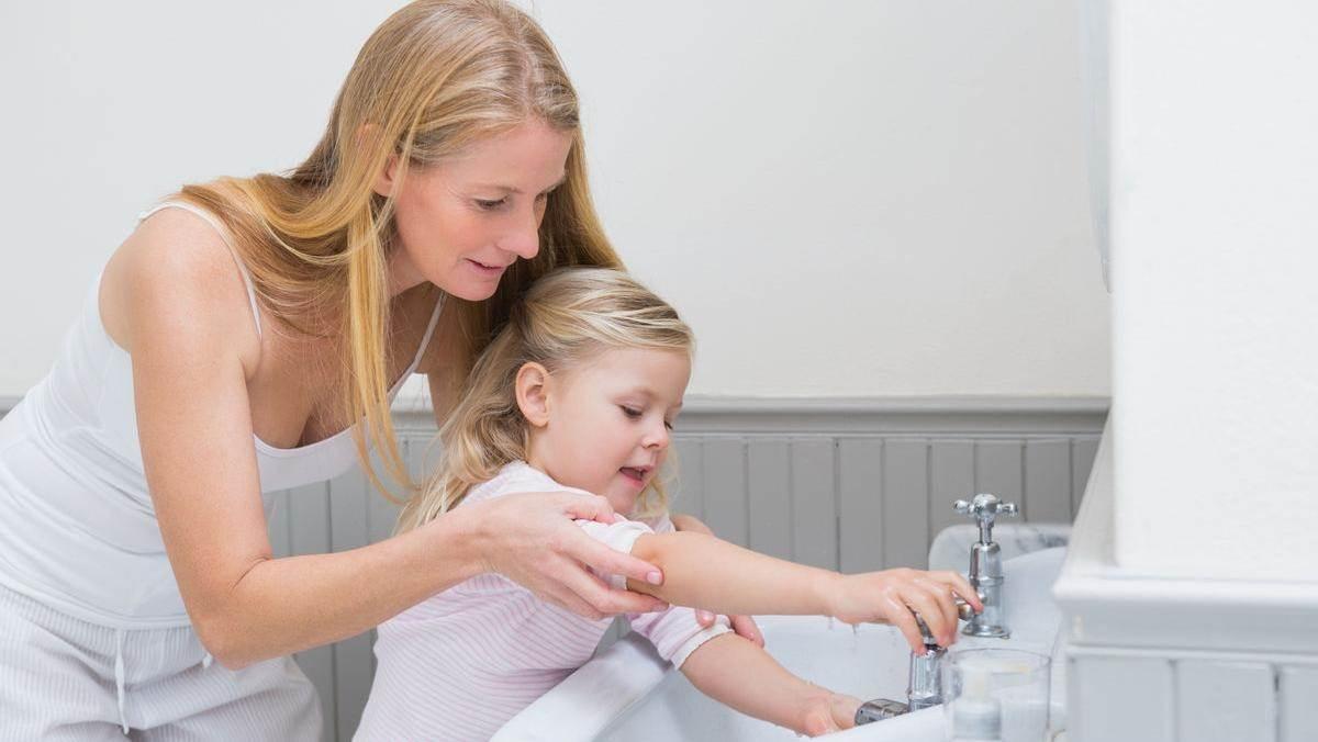 手洗いアルコール消毒