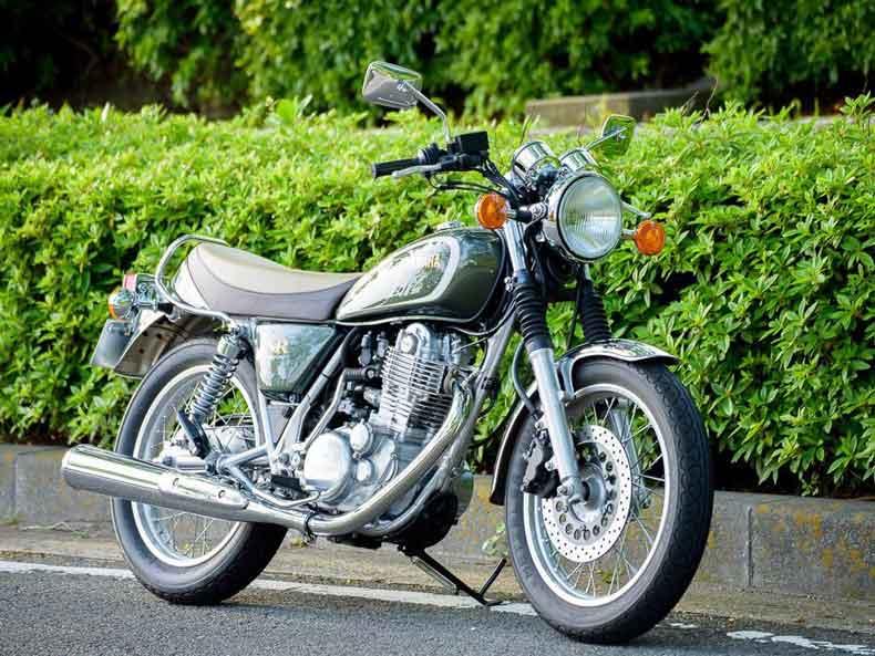 SR400バイクカバー